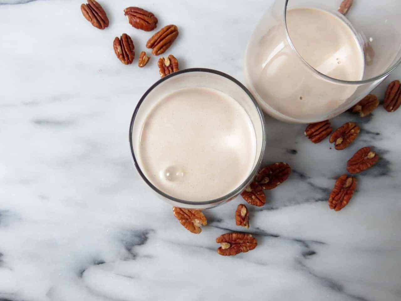 Homemade Pecan Milk