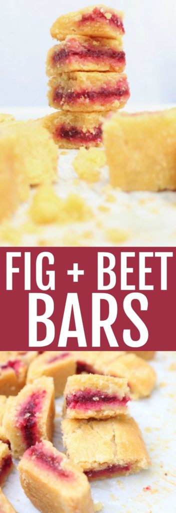 The recipe that needs to be in your snacking lineup: fig + beet bars! They're low carb, gluten free, and the perfect healthy treat! thetoastedpinenut.com #lowcarb #glutenfree #snack #dessert