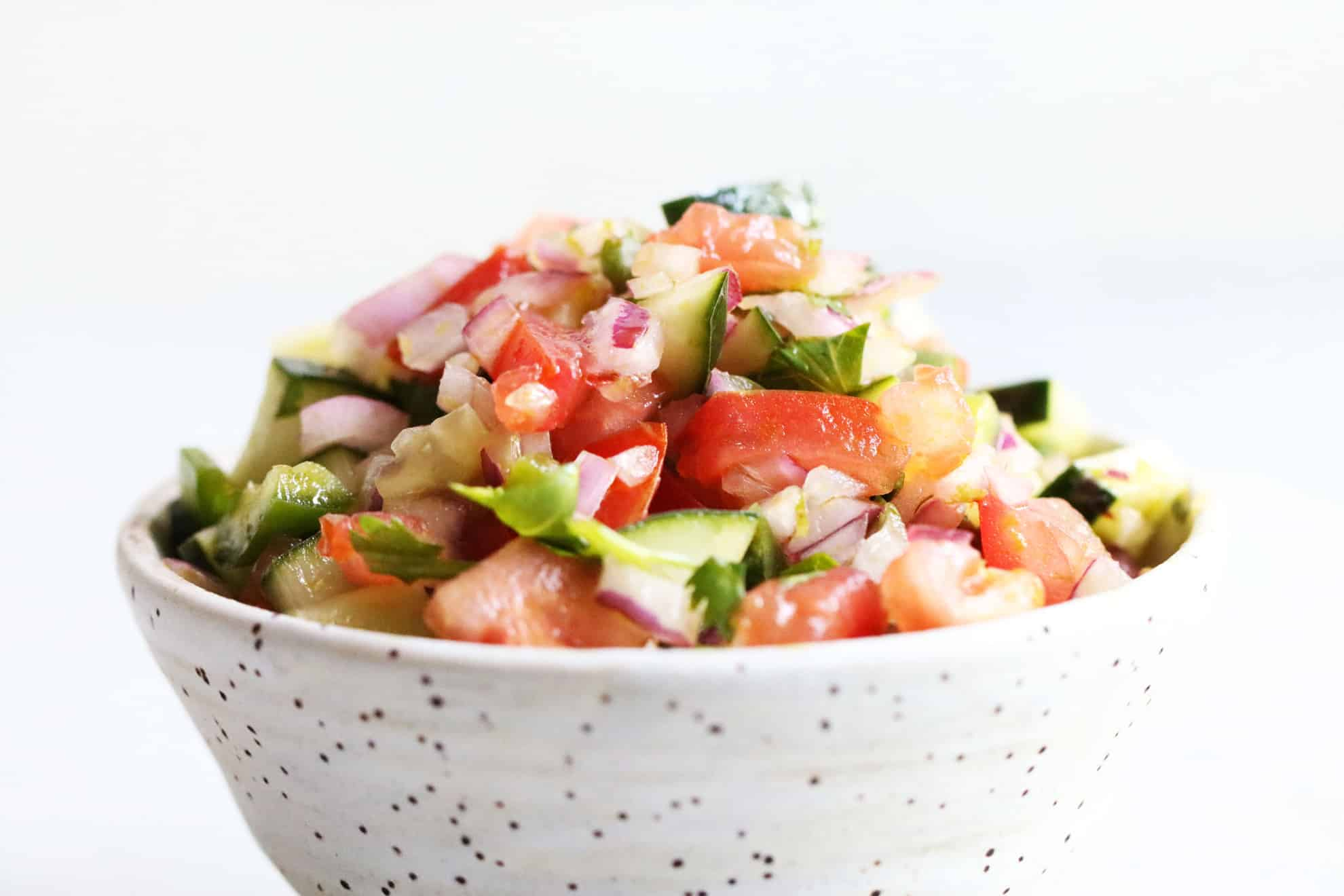 Chopped Cucumber Salad