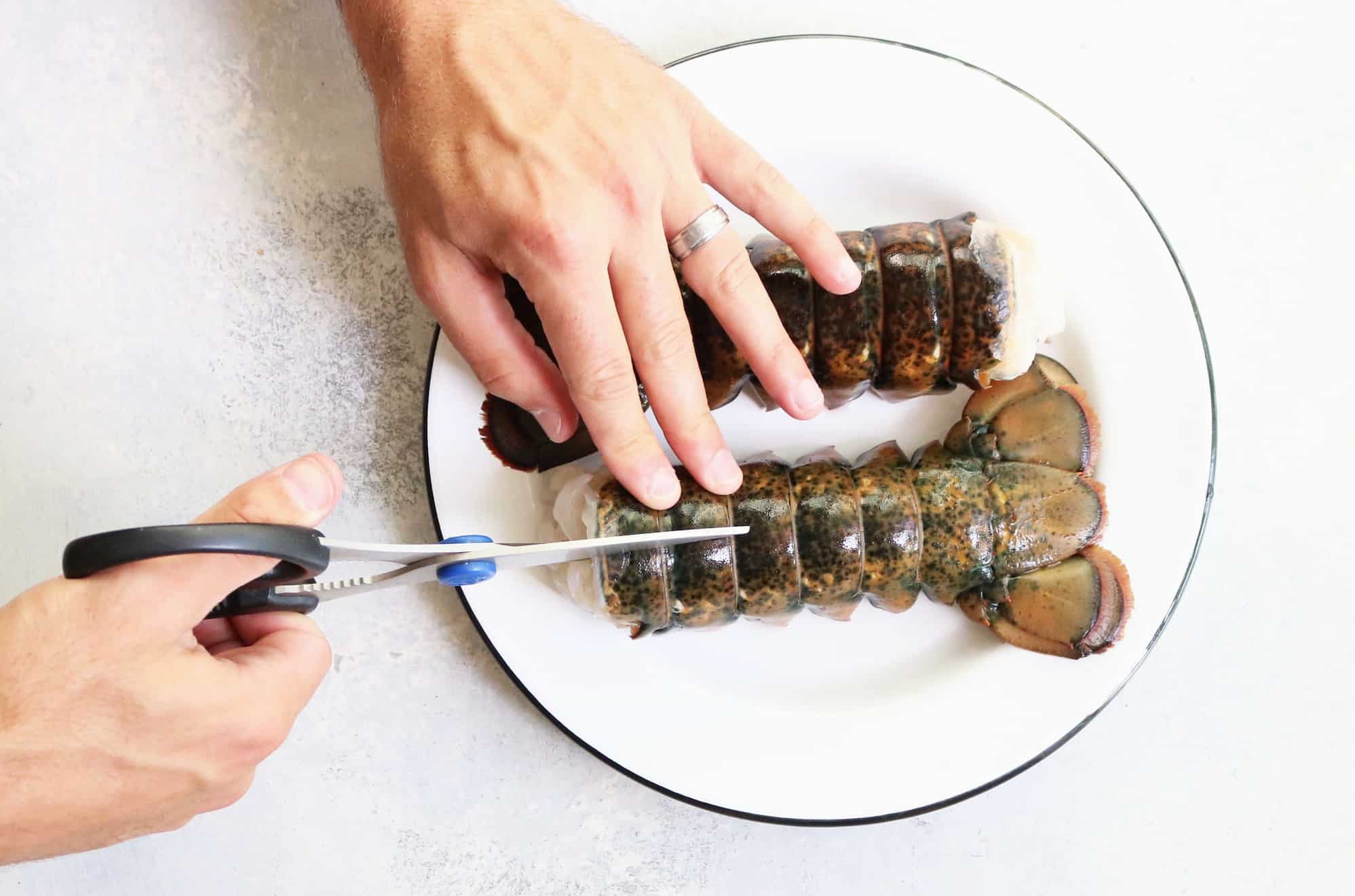 Perfect Herb + Butter Lobster Tails