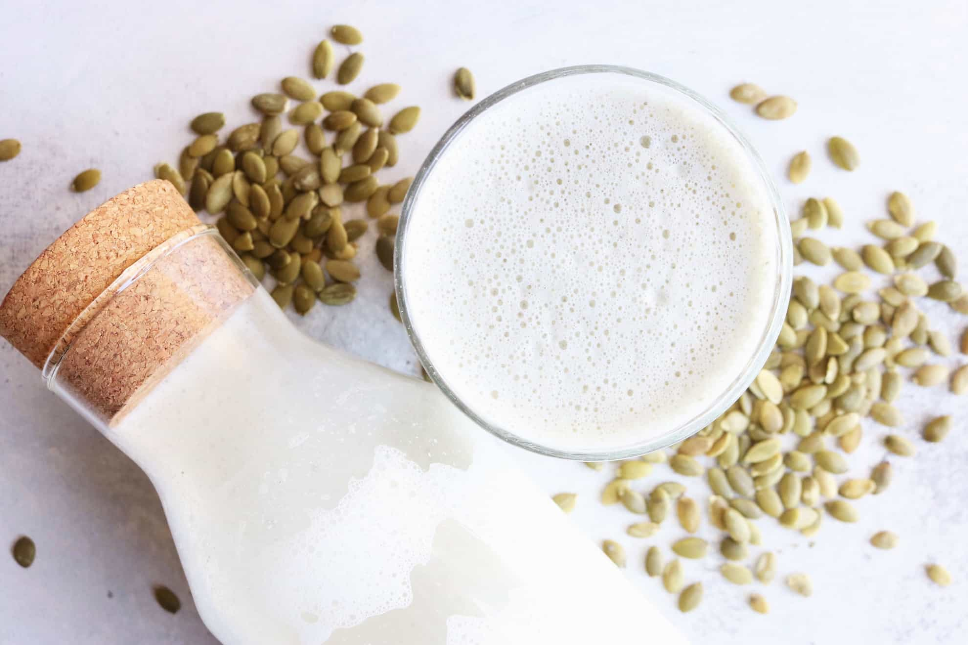 How to Make: Pumpkin Seed Milk