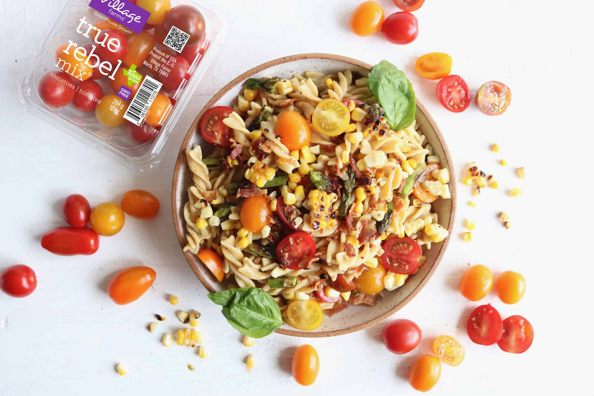 Grilled Summer Veggie Pasta Salad