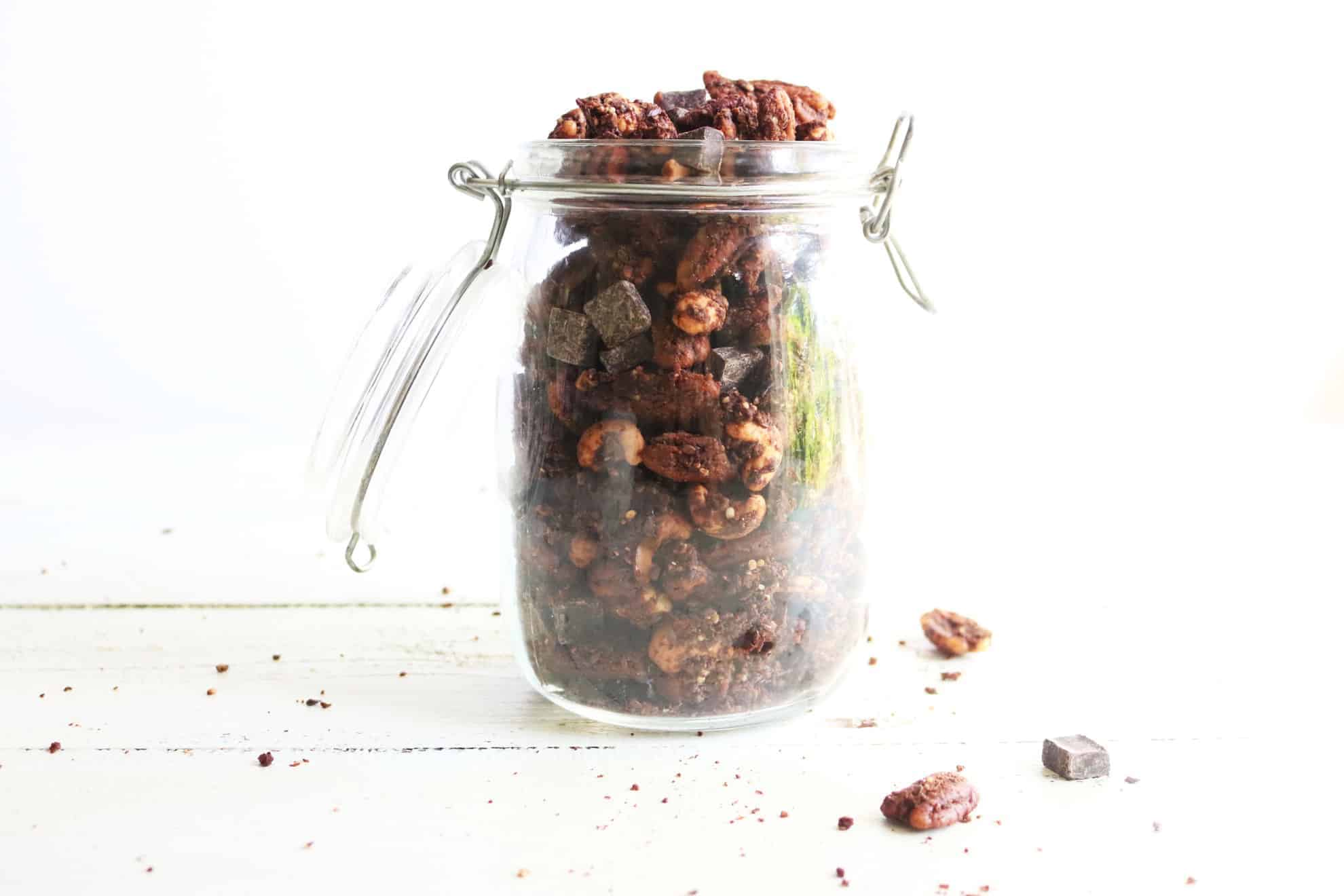 low carb paleo chocolate granola