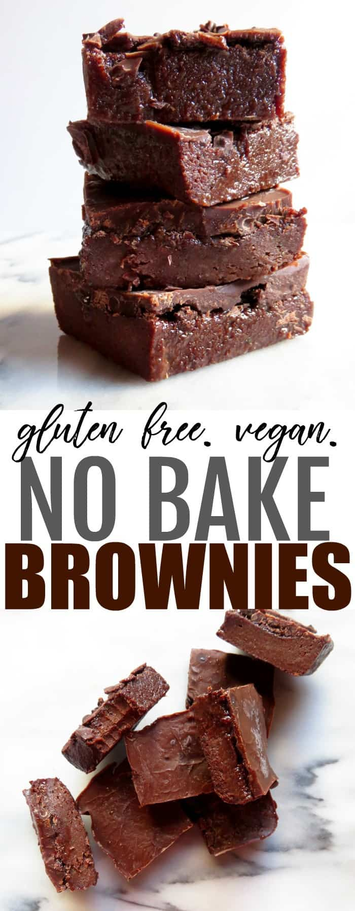 Intensely fudgey no bake gluten free and vegan brownies that you will OBSESS over! They're so chocolatey and delish, you need to try this recipe!! thetoastedpinenut.com