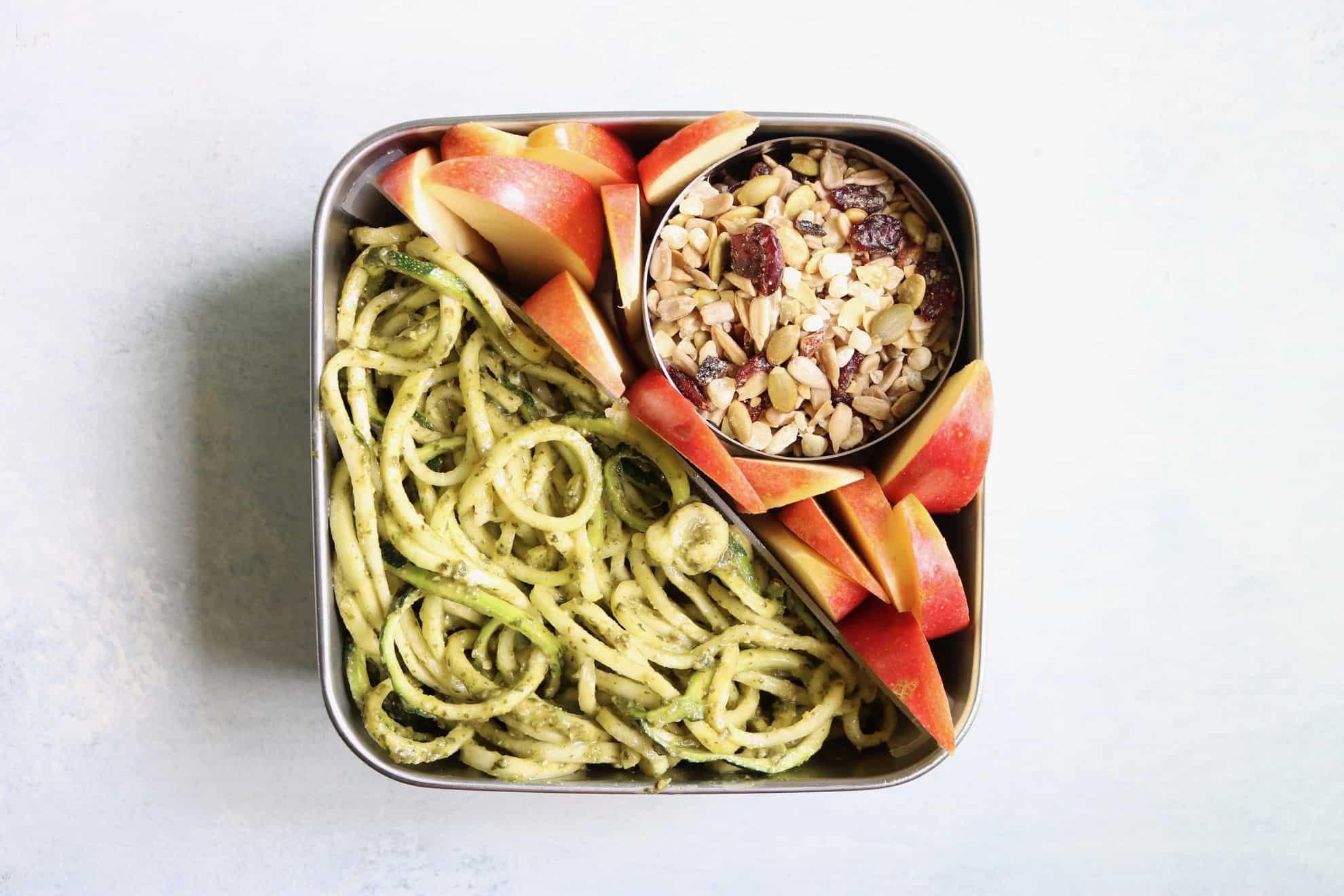 FIVE Healthy Lunch Box Ideas