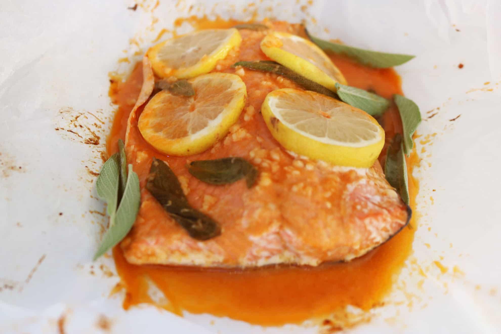 Lemon + Herb Sriracha Salmon