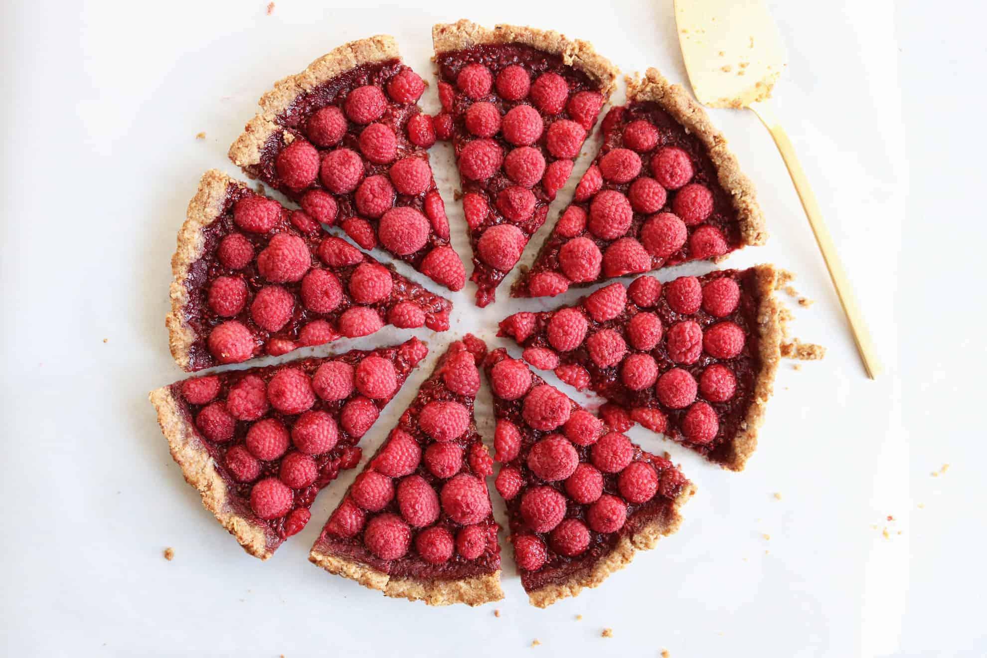 Raspberry Pecan Pie