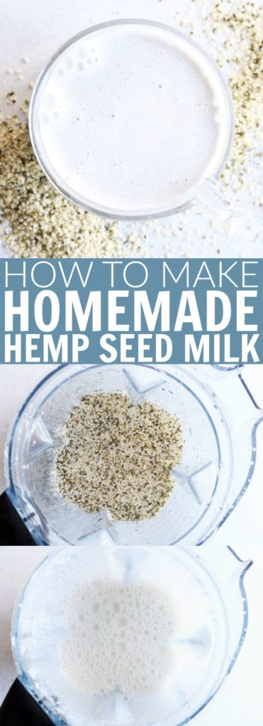 Switch up your milk habit and try this homemade peanut butter hemp heart recipe! So tasty and packed with protein! It comes together in less than 2 minutes and is paleo and dairy free! thetoastedpinenut.com #hempseed #hempheart #hemp #milk #dairyfree #diy #homemade #howto #paleo #vegan #thetoastedpinenut
