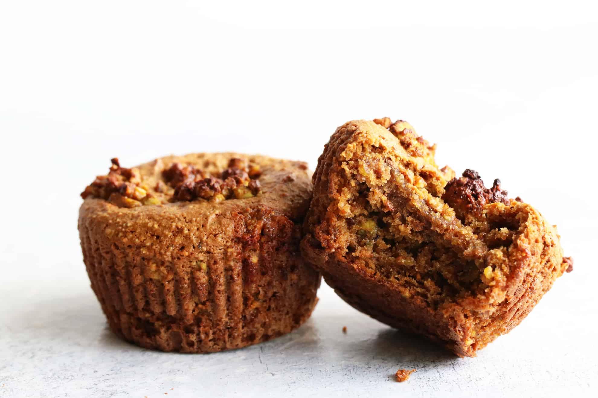 Gluten Free Pistachio Muffins