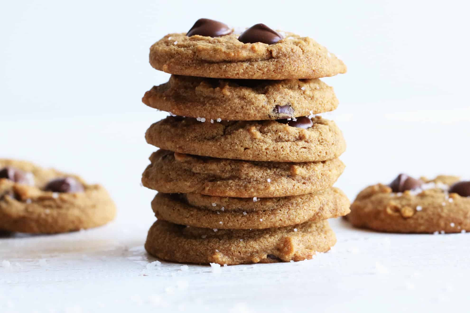 Tigernut Flour Chocolate Chip Cookies
