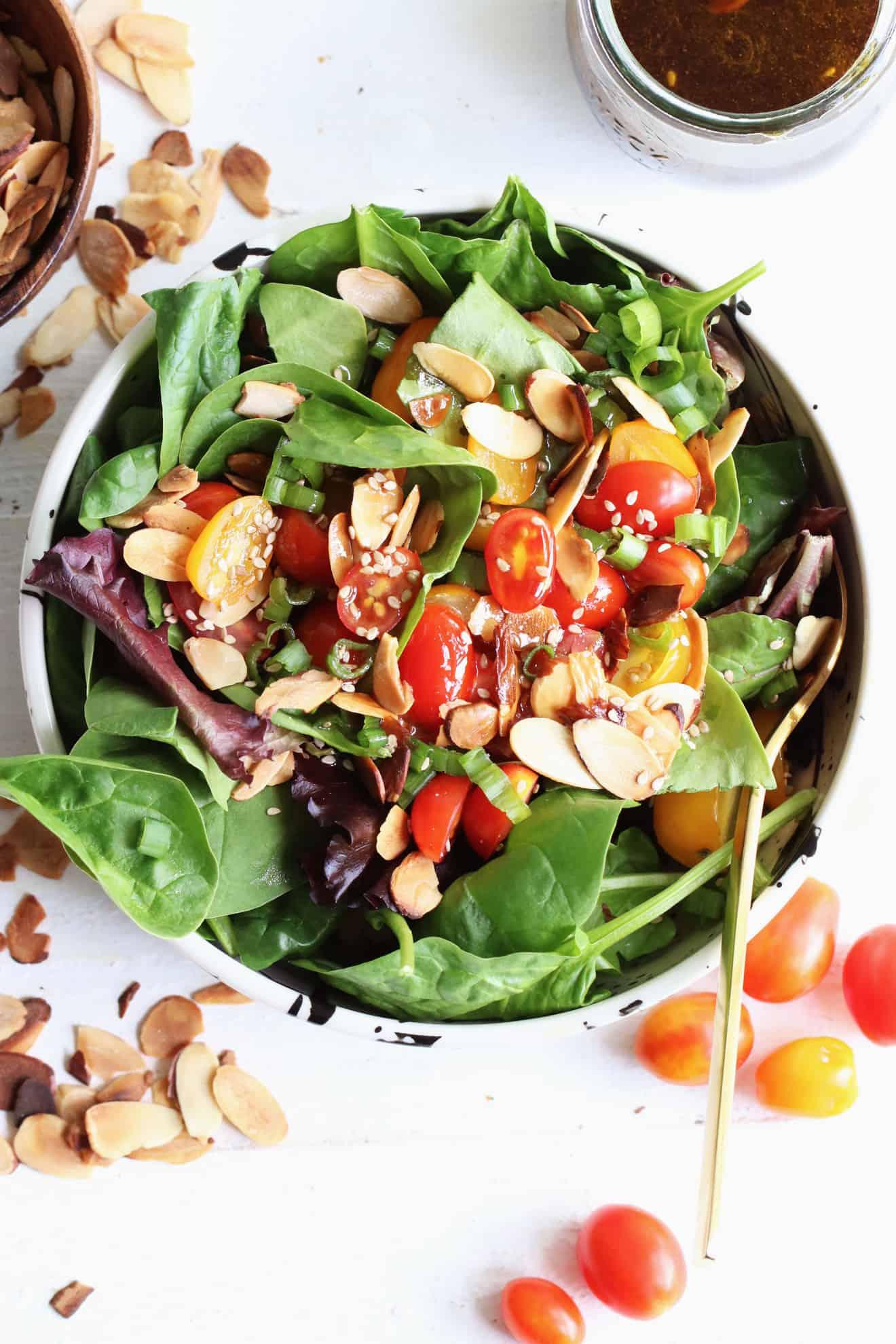 Sesame Soy Kale Salad