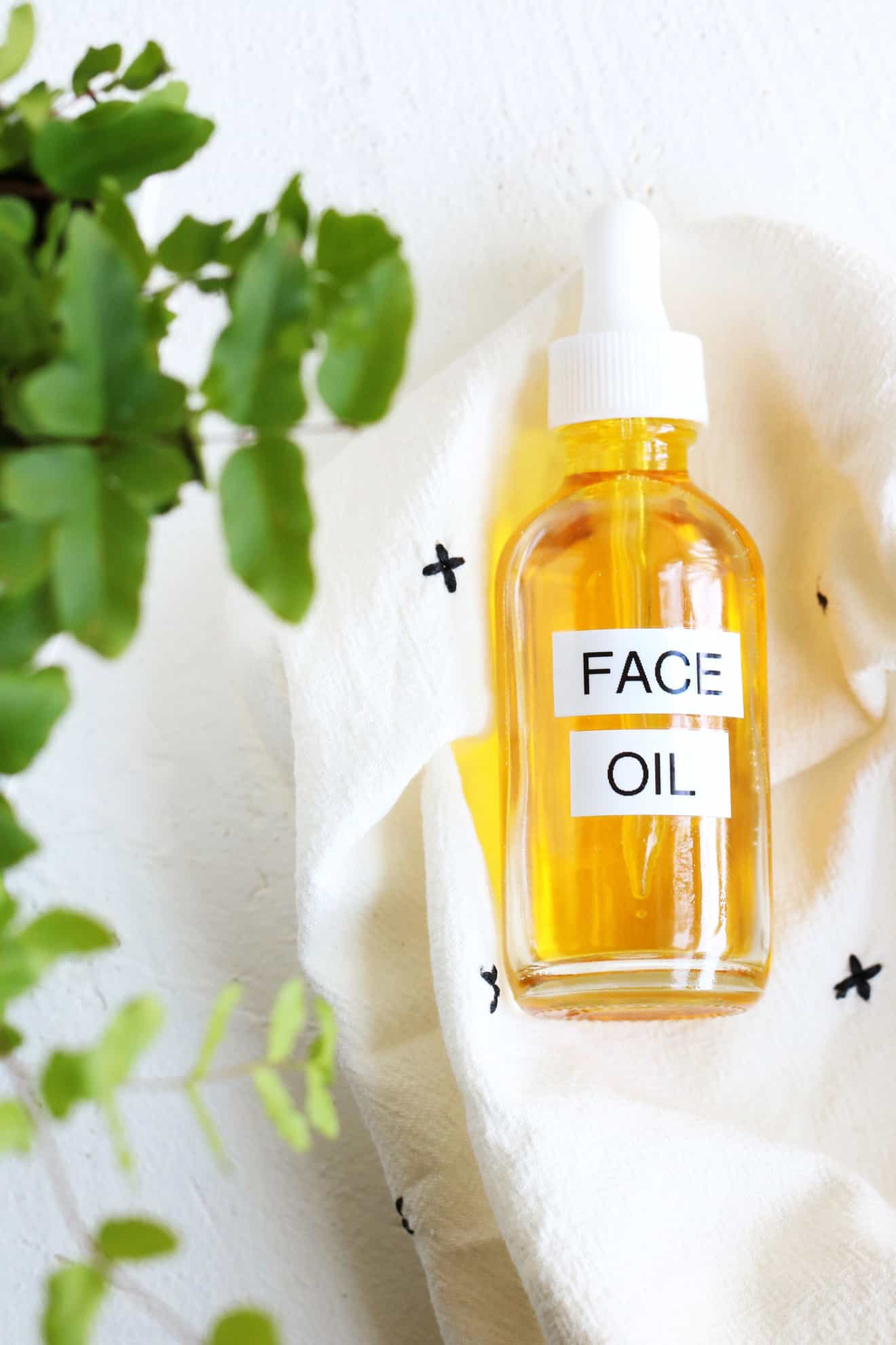 Homemade DIY Face Oil