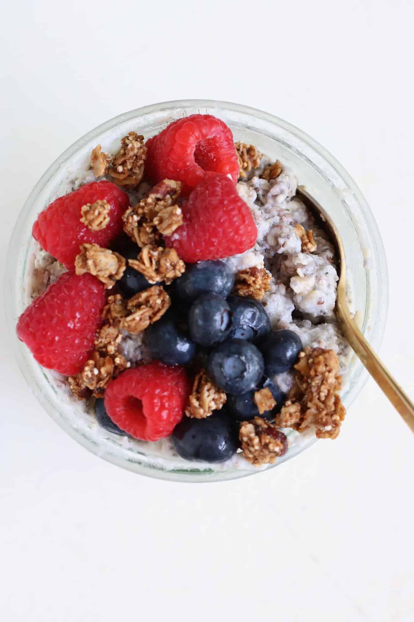 Overnight No-Oats - Three Ways (gluten free + dairy free)