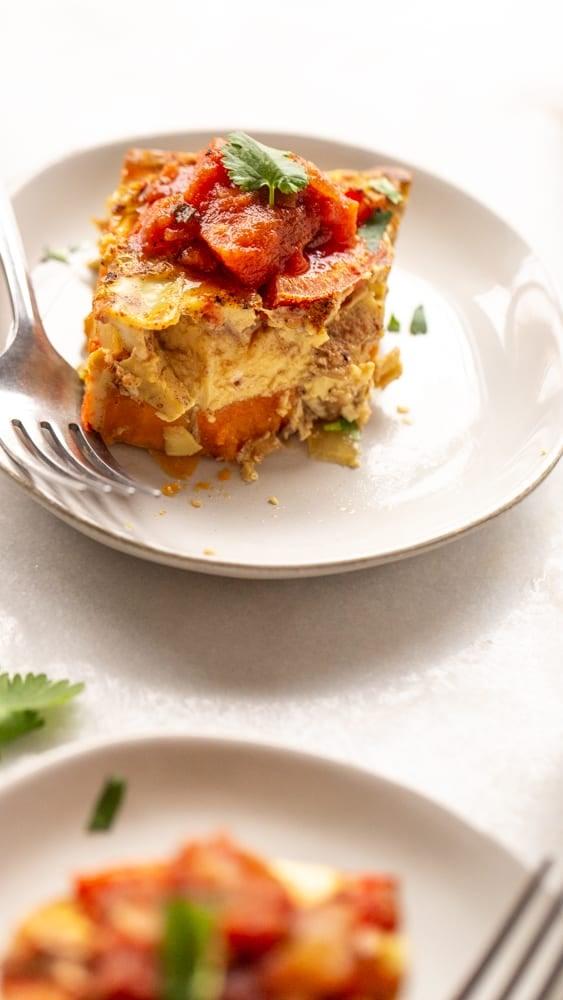 Southwestern Sweet Potato Egg Bake
