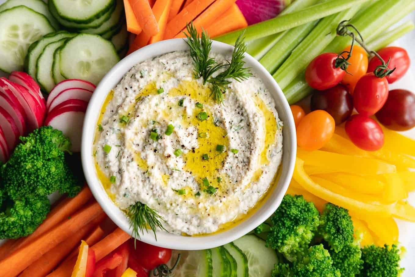 Vegan Cashew Ranch Dip