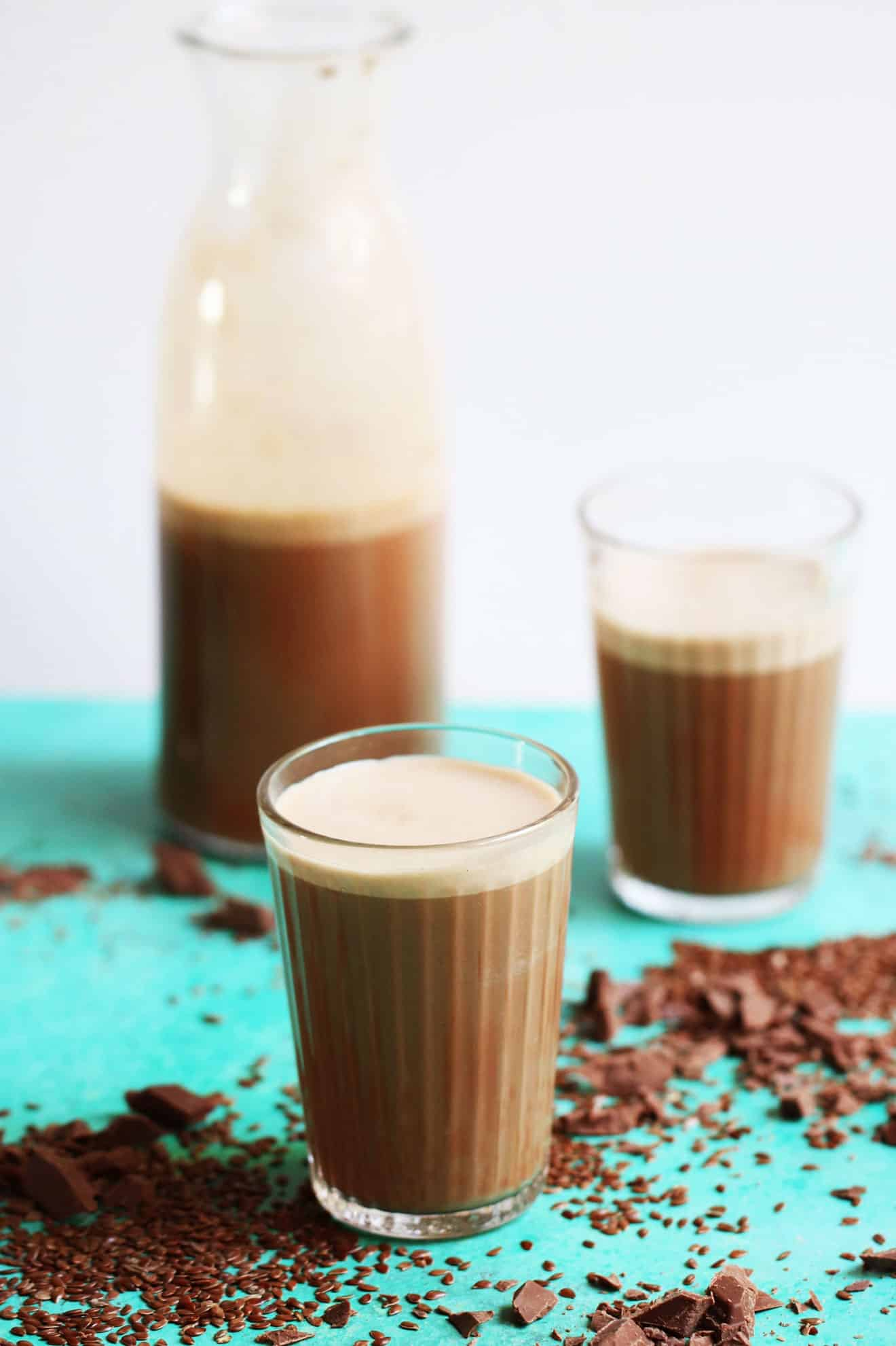 Homemade Chocolate Flax Milk