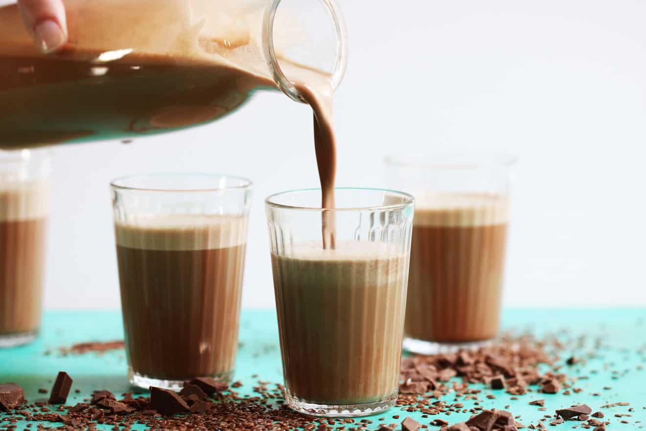 Homemade Chocolate Flax Milk