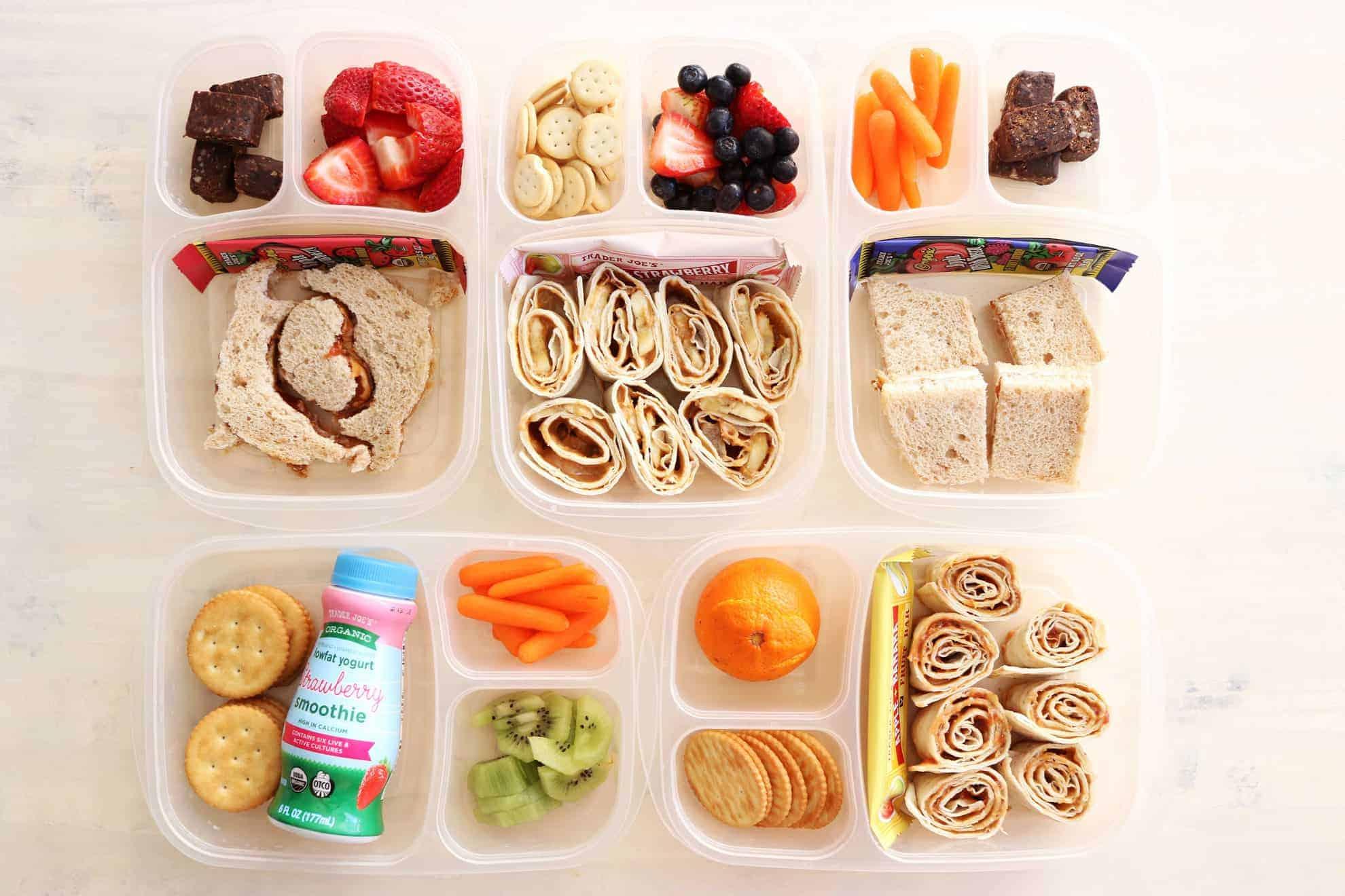 Kid Lunchbox Ideas - Trader Joe's Edition