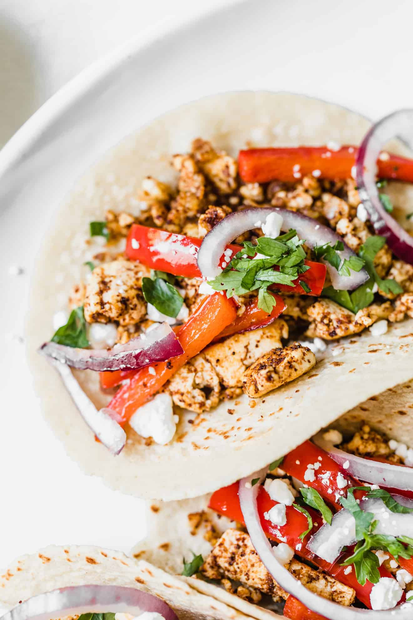 Spicy Vegetarian Tofu Tacos The Toasted Pine Nut