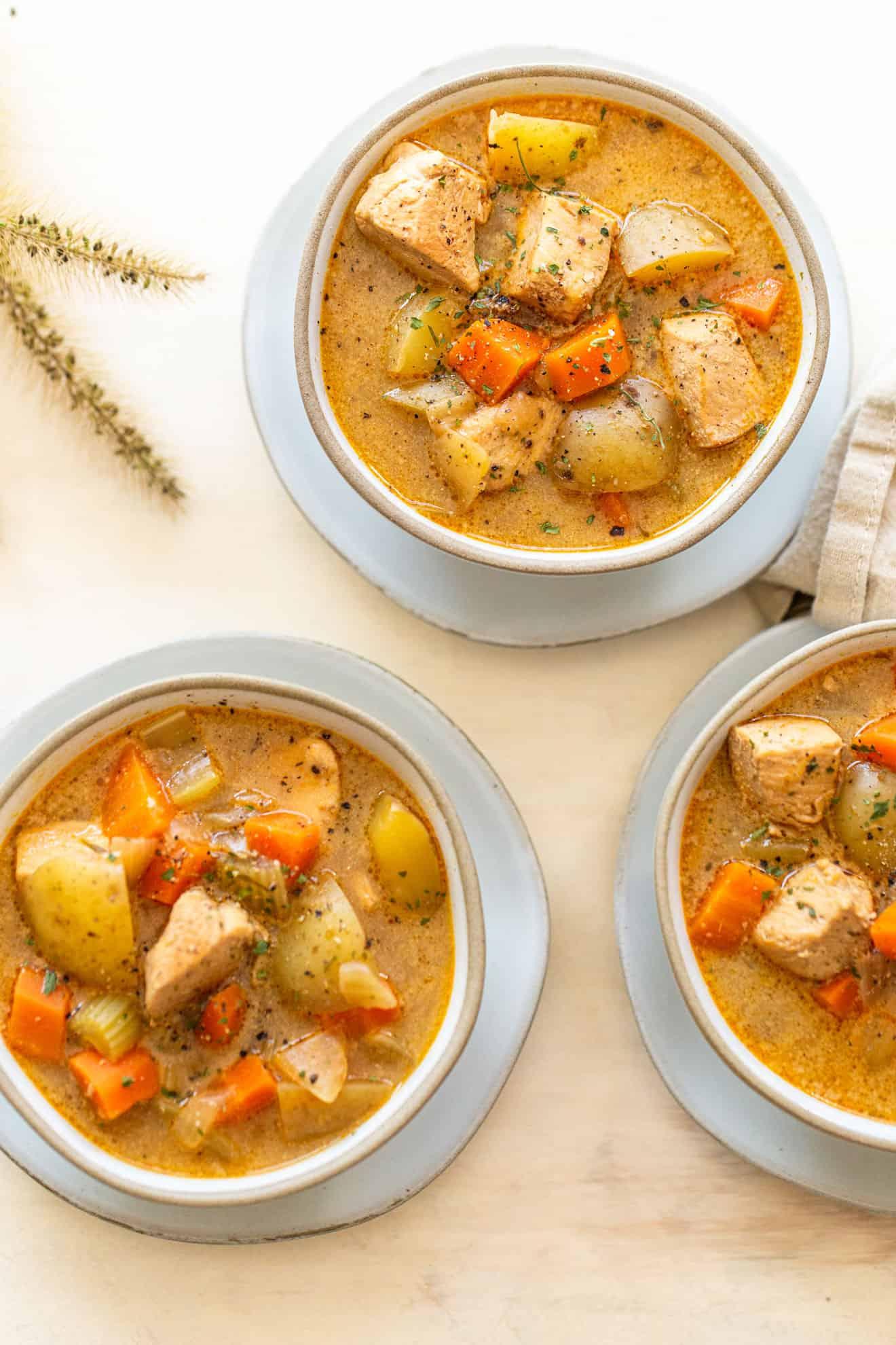 One Pot Healthy Chicken Stew
