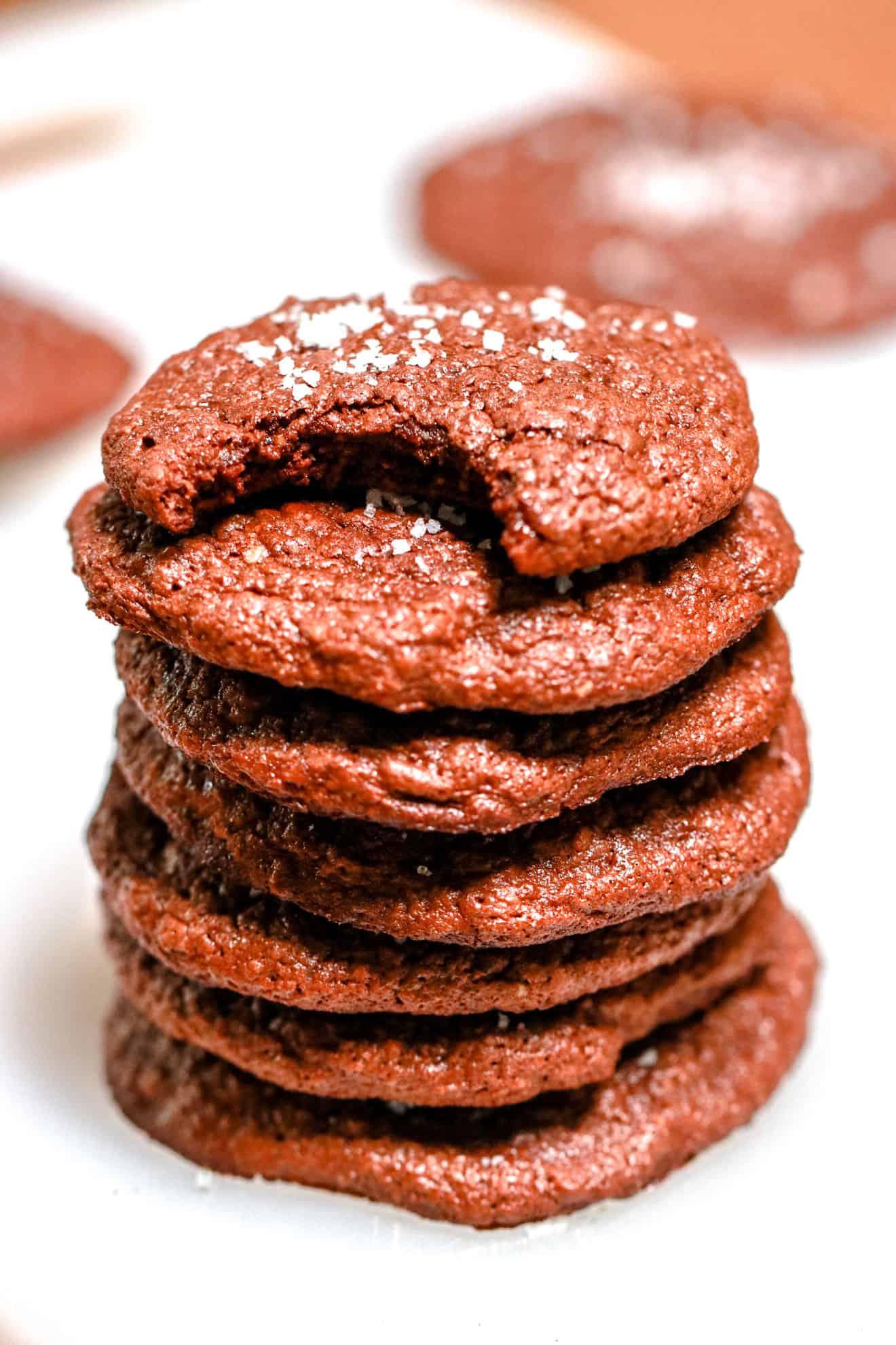 Chewy Chocolate Brownie Cookies