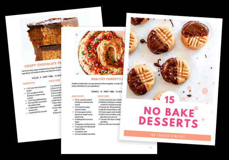15 No bake desserts